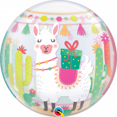 Bubble Llama Bday Party pvc balon