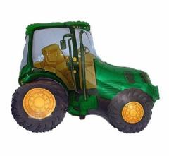 Folijski balon Traktor Green
