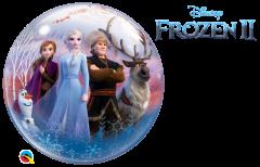 Bubble Frozen II pvc balon