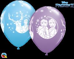 Lateks baloni 28cm Frozen II Special Ast