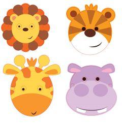 Jungle Animals maske