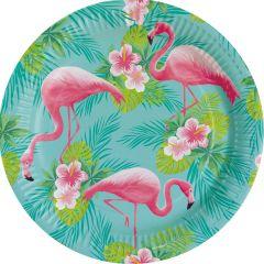 Flamingo Paradise tanjuri 23 cm