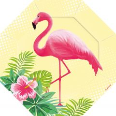 Flamingo Paradise tanjuri