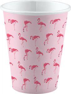 Flamingo Paradise čaše 250ml