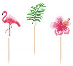 Flamingo Paradise ukrasne čačkalice