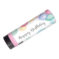 Happy Birthday Pastel konfeti na ispaljivanje