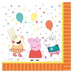 Peppa Pig salvete 33x33cm