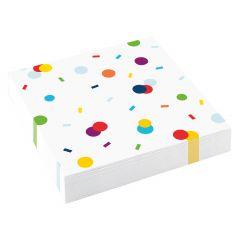 Confetti Birthday salvete 33x33 cm