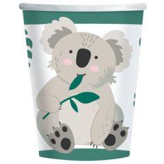 Papirnate čaše Koala, 250ml