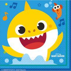 Baby Shark salvete 33x33 cm