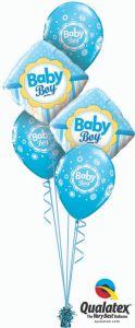 Buket balona Boy Dots & Stripes