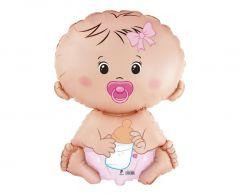 Standard FX Baby Girl folijski balon