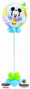 Helijska balonska skulptura Bubble Baby Mickey