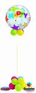 Helijska balonska skulptura Bubble Birthday
