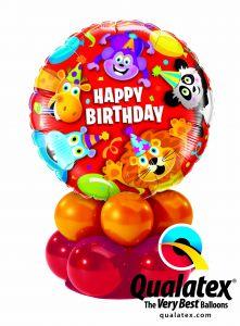 Balonska skulptura Birthday Party Animals
