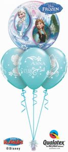 Helijski buket Bubble baloni Frozen