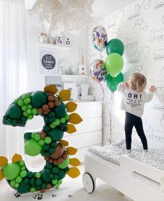 IwaIva Dino Mosaic Ballon Frame