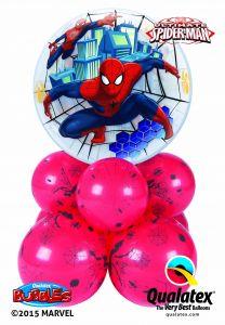 Helijski buket Bubble baloni Marvels Ultimate Spiderman