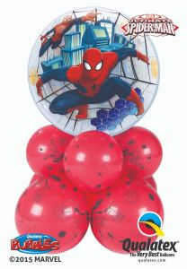 Balonska skulptura Bubble  Spider Man