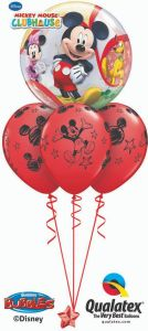 Balonska skulptura Bubble Mickey & Friends