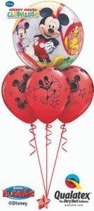 Helijski buket Bubble baloni Mickey & Friends