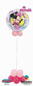 Helijska balonska skulptura Bubble Minnie Mouse Bowtique