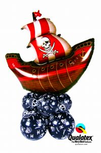 Balonska skulptura velika Pirate Ship