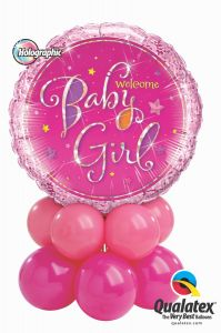 Balonska skulptura Baby Girl