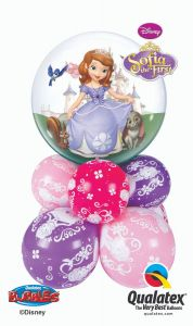 Balonska skulptura Bubble Sofia The First