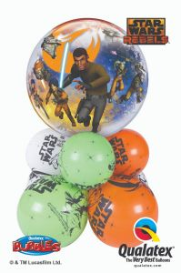 Balonska skulptura Bubble Star Wars Rebels