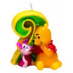 Winnie Pooh svijeća broj 2