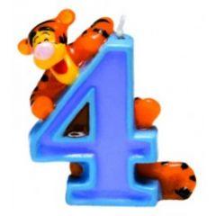 Winnie Pooh svijeća broj 4