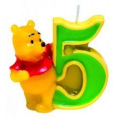 Winnie Pooh svijeća broj 5