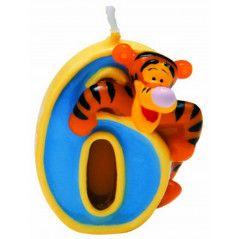 Winnie Pooh svijeća broj 6