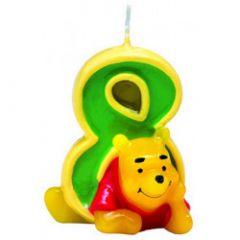 Winnie Pooh svijeća broj 8